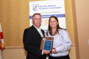 2015 - Jodey Stambaugh of Pinellas County Animal Services