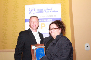 2015 - Pamela Butscher of Marion County Animal Services