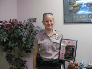 2010 - Reannon Juergensen of Charlotte County Animal Control