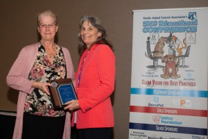 2020 Lifetime Achievement Award - Peggy Meeks, Orange County Animal Services