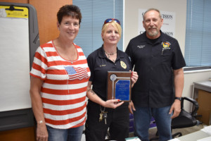 2021 Animal Control Officer of the Year - Stella Ickes, Pasco County Animal Services